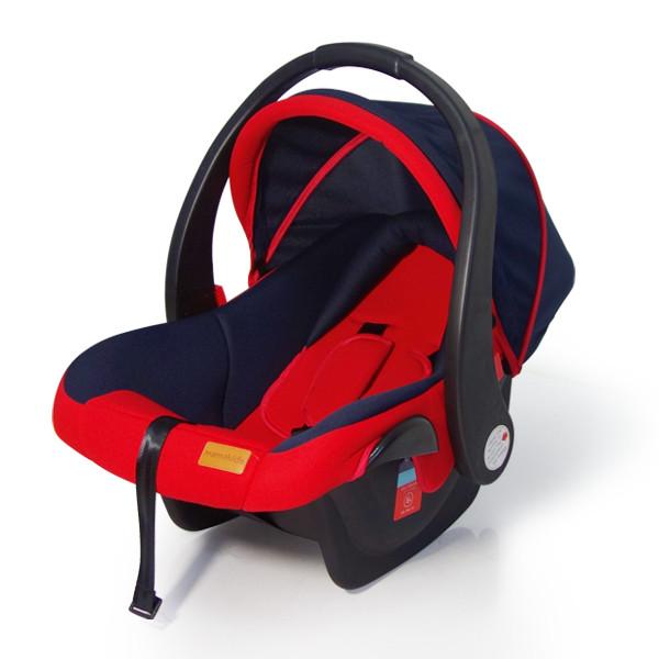 Детское автокресло группа 0+ 0-13kg (автолюлька) Mamakids Z-33B Red