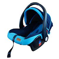 Детское автокресло группа 0+ 0-13kg (автолюлька) Mamakids Z-33B Blue