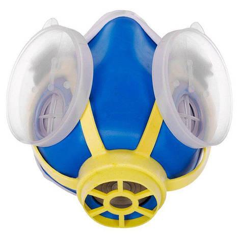 Респиратор - тополь (без фильтров) горловка | VTR (Украина) DR-0049, фото 2