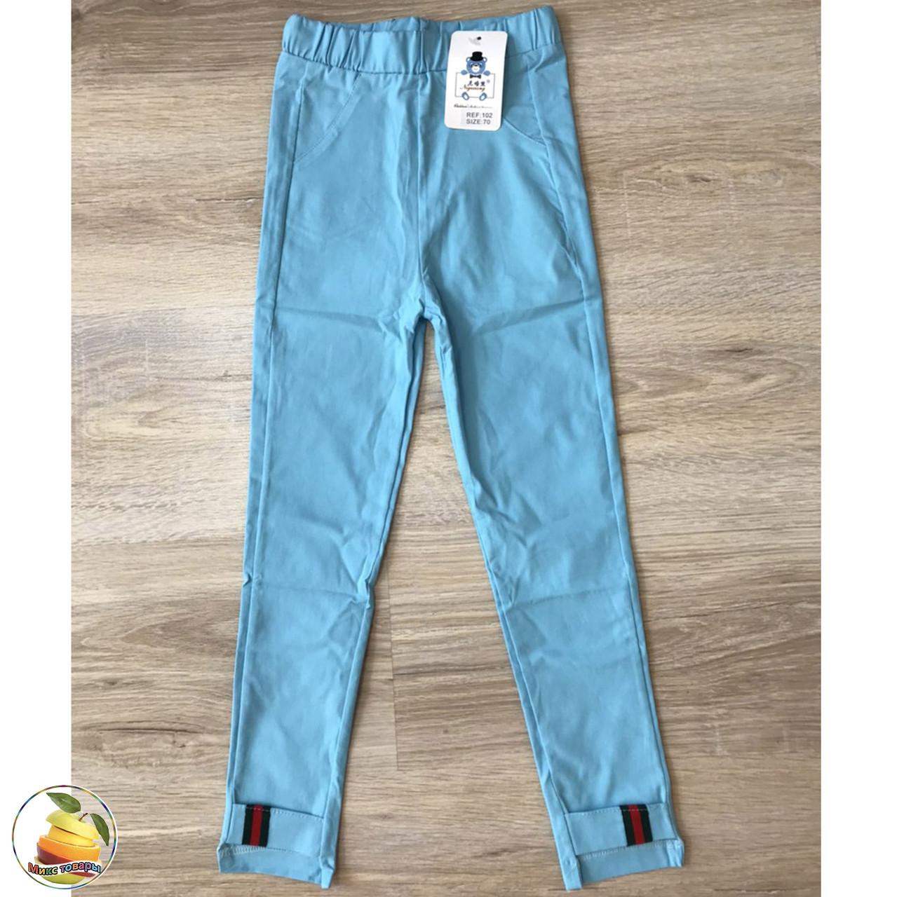 Літні брюки з додаванням стрейчевого волокна для дівчинки Розміри: від 6 до 13 років (20215-3)