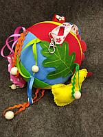 Развивающий мячик, погремушка, игрушка для развития мелкой моторики
