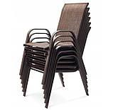 Садовая мебель NEVADA Стол + 6 Кресел Разные цвета, фото 3