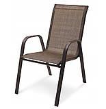 Садовая мебель NEVADA Стол + 6 Кресел Разные цвета, фото 4