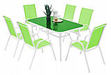 Садовая мебель NEVADA Стол + 6 Кресел Разные цвета, фото 8