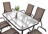 Садовая мебель NEVADA Стол + 6 Кресел Разные цвета, фото 7
