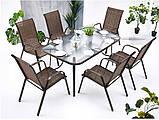 Садовая мебель NEVADA Стол + 6 Кресел Разные цвета, фото 2