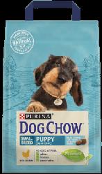 Корм Dog Chow Puppy Small Breed Дог Чау Паппі для цуценят малих порід з куркою 2,5 кг