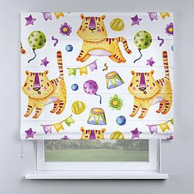 Римская фото штора Цирк львята