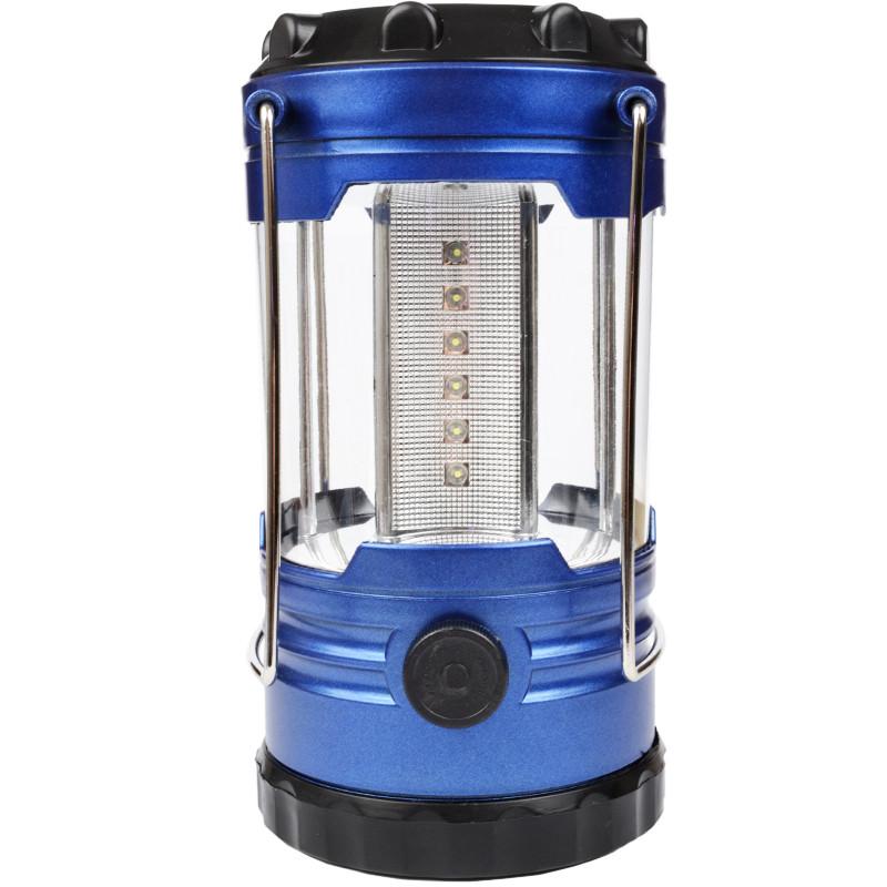 Кемпінговий ліхтар (18 LED, 260 люмен, регулювання яскравості, 3xD)