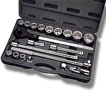 Набор инструментов 20 ед. 3/4 Intertool | ET-6023, фото 3