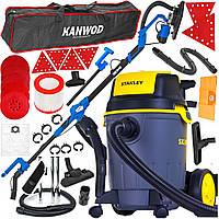 Комплект шлифовальные машины для стен Kanwod + пылесос STANLEY, фото 1