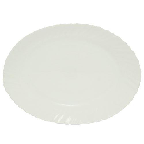 Блюдо овал S&T Белое A2 40010-05-14