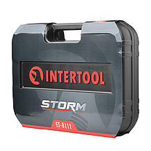 Набор инструментов 111 ед. 1/4 х 1/2 Storm Intertool   ET-8111, фото 2