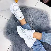 Женские белые кроссовки весенние, фото 1