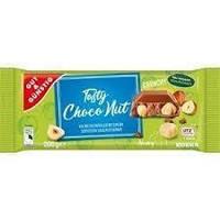 Шоколад молочний з цільним лісовим горіхом Edeka Tasty Choco Nut Crunchy Німеччина 200г, фото 1
