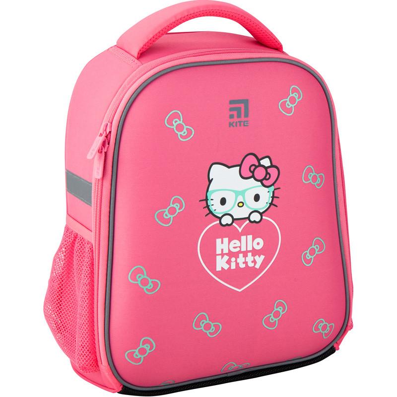 Рюкзак школьный каркасный Kite 555 Hello Kitty HK20-555S