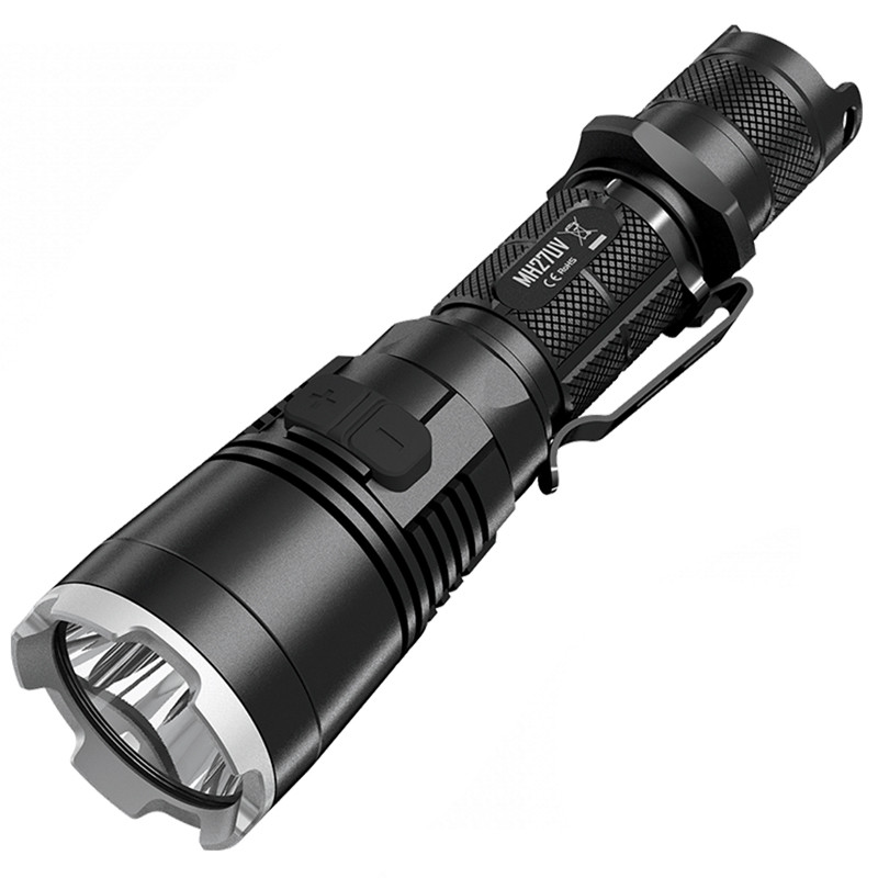 Ліхтар Nitecore MH27UV (Сгее XP-L HI V3 + ultraviolet LED, 1000 люмен, 13 режимів, 1х18650, USB)