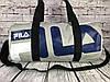 Небольшая красивая спортивная сумка бочонок Fila. Размер 44см на 23 КСС12-4