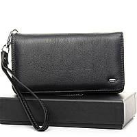 Женский кошелек, клатч, портмоне с кистевым ремешком. Натуральная кожа ЕК23-1