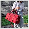 Спортивная сумка. Женская сумка для тренировок, в бассейн.Дорожная сумка  КСС67-1
