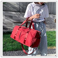 Спортивная сумка. Женская сумка для тренировок, в бассейн.Дорожная сумка  КСС67-1, фото 1