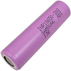 Літієвий акумулятор Samsung INR 18650 30Q (3.7 V, 15A, 3000mAh)