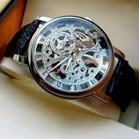 Мужские механические часы Winner Silver