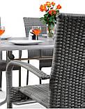 Набор садовой мебели FIESTA AVENUE Стол + 6 стульев из техноротанга, фото 4