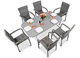Набор садовой мебели FIESTA AVENUE Стол + 6 стульев из техноротанга, фото 3
