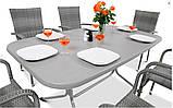 Набор садовой мебели FIESTA AVENUE Стол + 6 стульев из техноротанга, фото 7