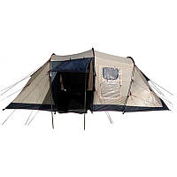 Палатка трехместная Coleman CLM90 (335х250х135см), серая