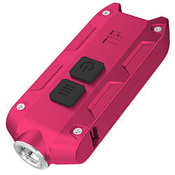 Фонарь Nitecore TIP (Cree XP-G2, 360 люмен, 4 режима, USB), красный