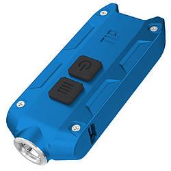 Фонарь Nitecore TIP (Cree XP-G2, 360 люмен, 4 режима, USB), синий