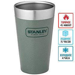 Термостакан Stanley Adventure Stacking (0.47л), зеленый