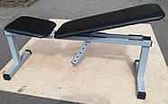 Скамья для жима лежа регулируемая, универсальная MALCHENKO до 250кг, фото 3