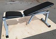 Скамья для жима лежа регулируемая, универсальная MALCHENKO до 250кг, фото 4