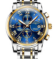 Мужские механические часы Carnival London Silver (автоподзавод, 25 камней, сапфировое стекло)