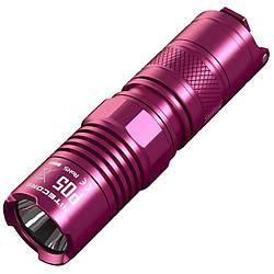 Фонарь Nitecore P05 (Cree XM-L2 U2, 460 люмен, 3 режима, 1xCR123), розовый