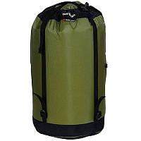 Компрессионный мешок Tatonka Tight Bag (30л), зеленый/черный 3024.108
