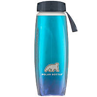 Термобутылка Polar Bottle Ergo Aurora (650мл), cyan