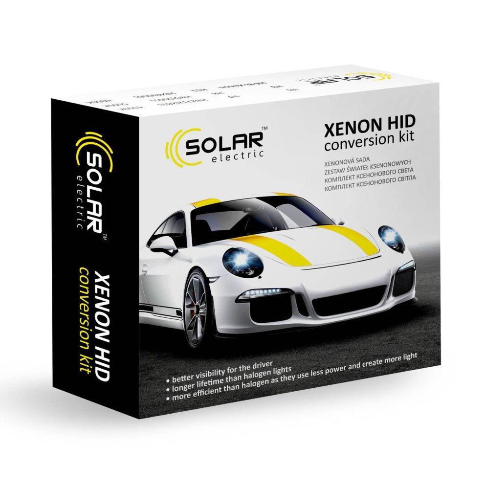 Комплект біксенону Solar H4 H/L 4300K 35W