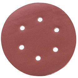 Шлифовальный круг 6 отверстий Ø150мм P320 (10шт) sigma 9122331