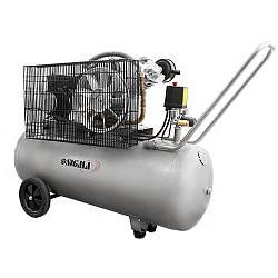 Воздушный компрессор для СТО 2.5кВт 396л/мин 10бар 100л sigma 7044151