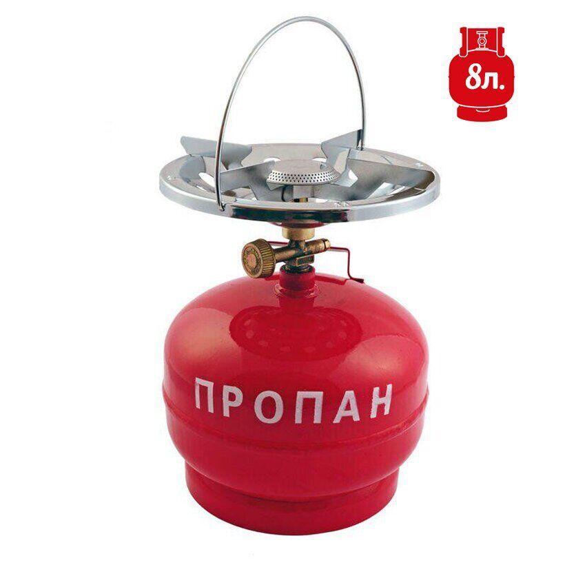 Плита Турист - пропановый баллон 8 л | VTR (Украина) GP-0007