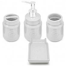 Керамический набор для ванной Stenson R30149 / 30150 4 предметов