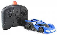 Антигравитационная машинка радиоуправляемая игрушка Wall Climber P801 Blue
