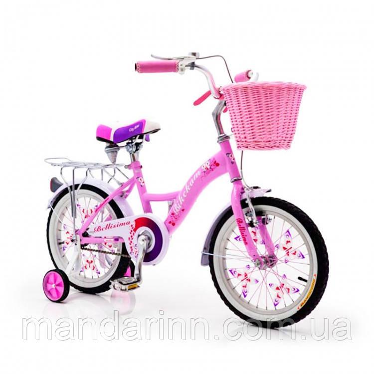 """Велосипед детский 20 дюймов  """"BELLISIMA"""" Розовый"""