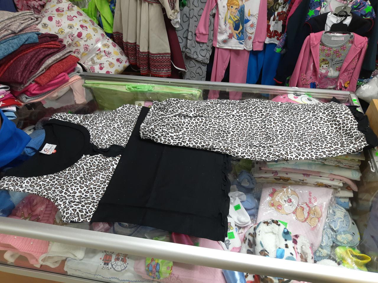Пижама женская Майка и бриджи р. 44 - 50