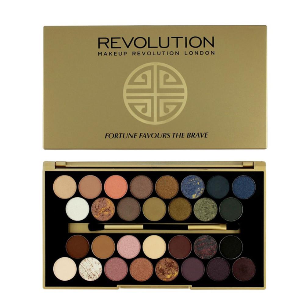 Палетка теней Makeup Revolution Palette Fortune Favours The Brave