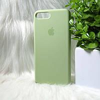 Силиконовый чехол Apple Original Silicone case iPhone 7 Plus / 8 Plus Green (зеленый)